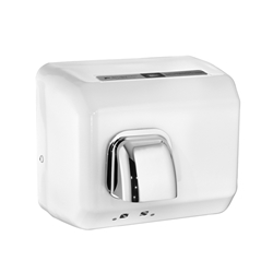 DR-TN Steel Automatic White Enamel Hand Dryers