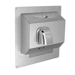 DR Series Stainless Steel Automatic Recessed Hand Dryer
