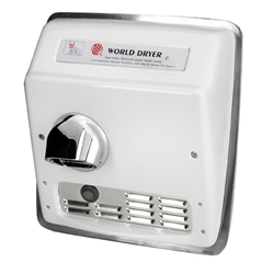 World Dryer Model XRA Automatic Hand Dryer