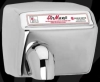 World Dryer Hand Dryer - AirMax Series Cast Iron Push Button Recessed - Model RM